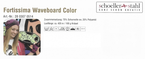 Fortissima Waveboard Color