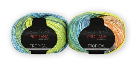 Pro Lana Tropical color