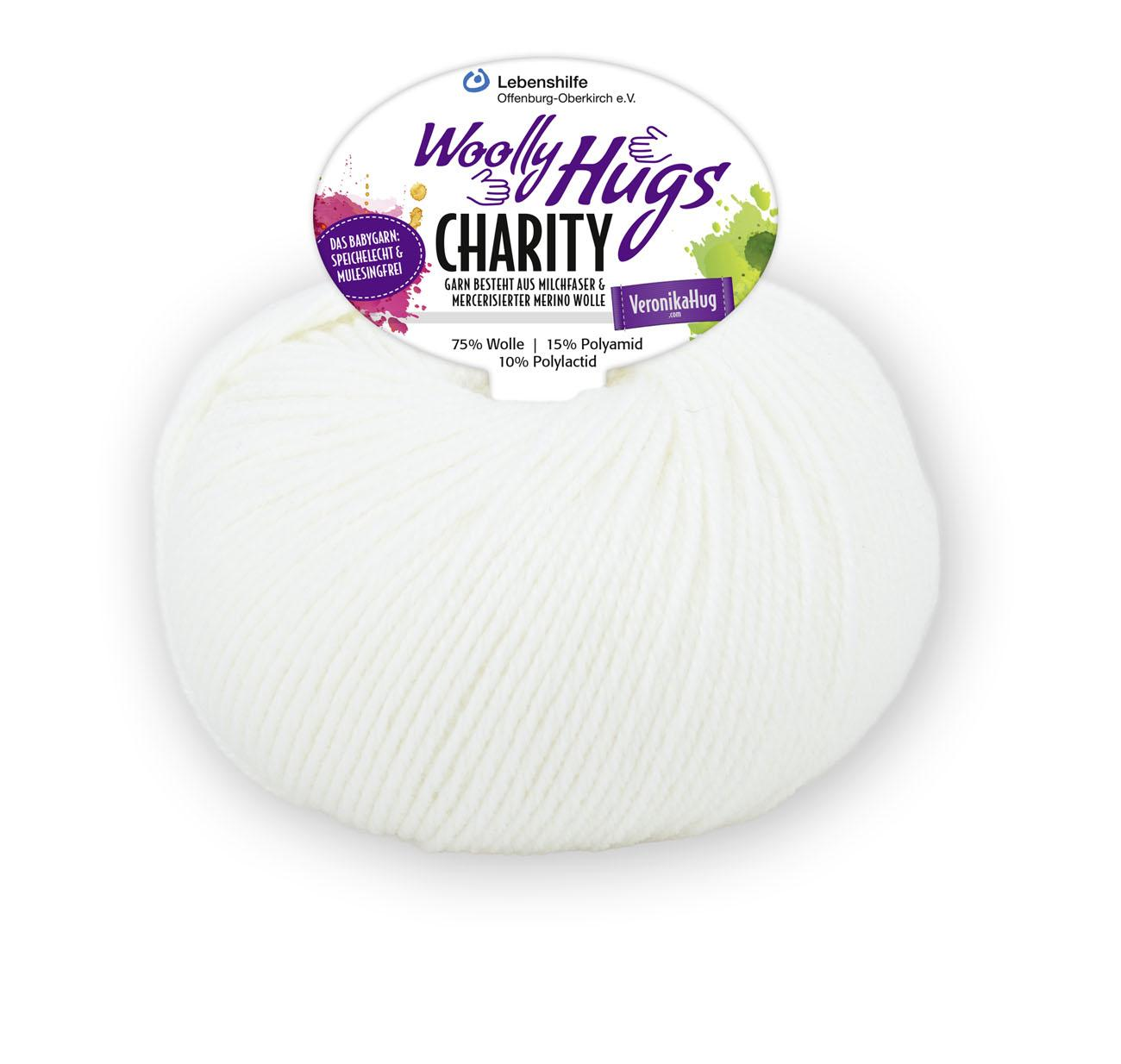 Woolly Hugs Charity - Farbe: 01 weiss